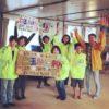 仮設住宅での春祭りのお手伝いをしました。(宮城県東松島市)