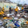フィリピンの大規模な台風被害にボランティアを派遣しました。