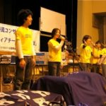 被災地で音楽コンサートを連続開催しました