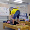 仮設住宅でアシスト講習会を開催しました。(宮城県東松島市)