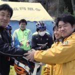 気仙沼の子供たちに32台の自転車が寄贈されました!